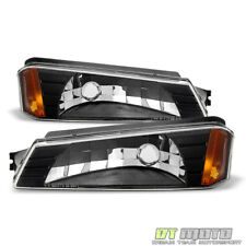 Bumper Lights Signal Lamps For 2002-2006 Chevy Avalanche w/ Body Cladding Model