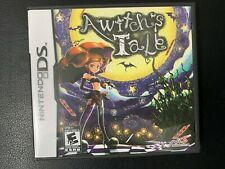 A WITCH'S TALE - NINTENDO DS - JEU COMPLET - TBE OVP CIB VGC - RARE NTSC US RPG