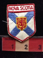 PATCH NOVA SCOTIA CANADA COAT OF ARMS COLLECTIBLE CANADIAN TRAVEL 59VV ex