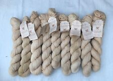Rowan California Natural Cotton Oatmeal Knitting / Crochet Yarn. 9 X 50g - 450gm