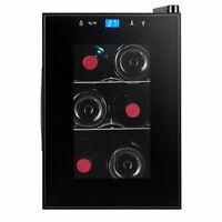 Avanti 6 Bottle Thermoelectric Wine Cooler with Slide-Out Shelves #EWC6C1B