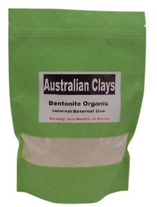 BENTONITE Clay Powder Australian Sodium Internal/External Use. 100g-8kg