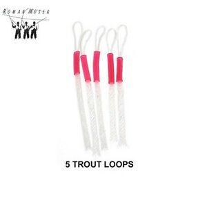 Roman Moser ® Mini Com Braided Loops - TROUT (5) Pack * 2021 Stocks *