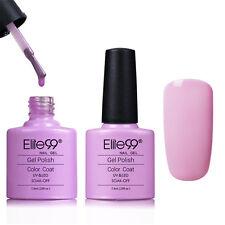 Elite99 Colour Gel Polish Top Base Coat Pro Nail Art Lacquer Soak Off UV LED New