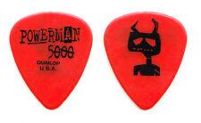 Powerman 5000 Adam 12 (Adam Williams) Red Guitar Pick PM5K - 2004 Tour