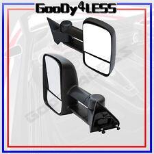 For 88-98 Chevy GMC C/K 1500 2500 Suburban Tahoe Yukon Towing Manual Mirrors