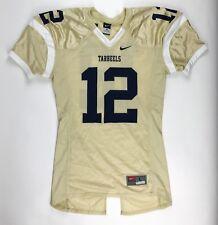New Nike Men's L North Carolina UNC Tar Heels Gold Football Jersey #12 Navy Blue