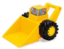 Amarillo y Negro Big Bulldozer por dantoy fuerte Arenero Excavadora Pala excavadora Grande