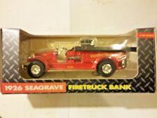 Ertl John Deere 1926 Seagrave Firetruck 1:30 Scale # 106