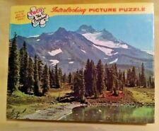 MOUNT JEFFERSON OREGON PUZZLE VINTAGE TUCO 350-400 PC COMPLETE SER NO 5980-L.