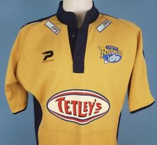Authentic Leeds Rhinos 2005 Rugby Away / Alternative Shirt Size Large Patrick