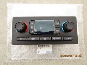 03 04 CHEVY TRAILBLAZER A/C HEATER CLIMATE TEMPERATURE CONTROL BRAND NEW