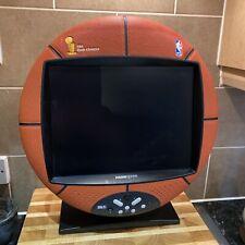 "Super RARE Hannspree NBA BASKETBALL Champions 15"" LCD TV / Monitor GWO TESTED"