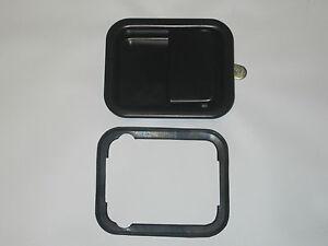 Jeep TJ  Wrangler Exterior Black Door Handle Passenger Side 1997 - 2006