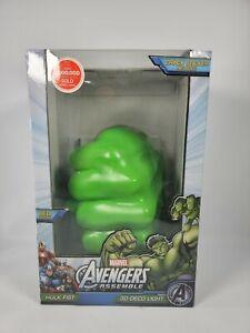 Marvel Avengers Assemble Hulk Fist 3D Deco Light New LED Light Collectible