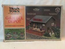 Bachmann HO Scale Train Town G & R LCL Depot Kit #47-1502