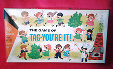Almost Mint Condition Vintage 1963 Tag You're It Board Game by Cadaco Ellis #247