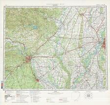 Russian Soviet Military Topographic Maps - MEMPHIS (USA), 1:500 000, ed.1983