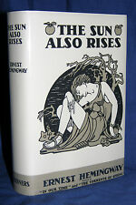 THE SUN ALSO RISES Ernest Hemingway First 1st Edition, 2nd Print, 1926