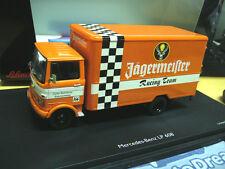 MERCEDES BENZ LP608 LP 608 Jägermeister Racing Team LKW Schuco 1:43