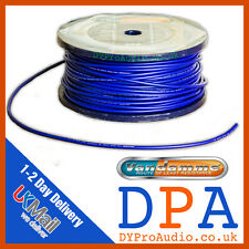 Van Damme Tour Grade XKE Blue Microphone Cable | Mic Cable |50m