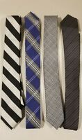 Lot of 4 Ties. Penguin, Ben Sherman Men Skinny Ties Used No stains. Great shape.
