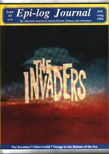 EPI-LOG JOURNAL #3 (1992) VOYAGE TO THE BOTTOM OF THE SEA, THE INVADERS