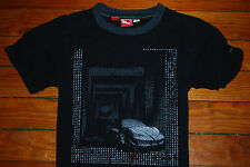 Boy's Puma x Ferrari Black F430 Graphic T-Shirt (Youth Medium)