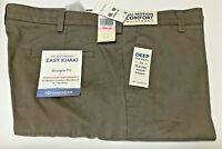 Clearence Dockers Stretch Easy Khaki Straight-Fit Flat-Front All Motion Pants
