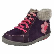 Clarks Medium Width Shoes for Girls' Boots with Laces