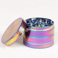 48mm hierba del arco iris de metal 4 unitarios de tabaco trituradora Grinder