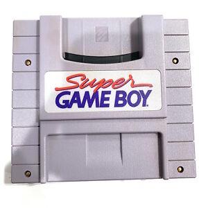 Super Gameboy SNES SUPER NINTENDO Game Boy - Tested & Working!