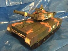"""Motor Max Toy Tank 14"""" Transforming Playset Military Army 76703 Action Figure **"""