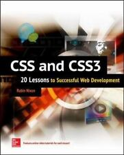 CSS & CSS3: 20 Lessons to Successful Web Development, Nixon, Robin