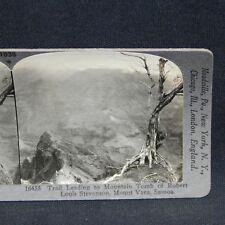 TRAIL LEADING TO MOUNTAIN TOMB OF ROBERT LOUIS STEVENSON, MT VAEA,SAMOA (1SV)