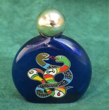 flacon à parfum vintage par Niki de St Phalle,  perfume bottle