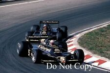 Mario Andretti & Ronnie Peterson JPS Lotus 79 Dutch Grand Prix 1978 Photograph 2