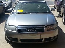 Audi A4 Cabriolet  B6 2004 Wrecking / Parts