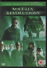 The Matrix Revolutions (DVD 2003) 3rd Of Trilogy Sci Fi Action Thrill Wachowskis