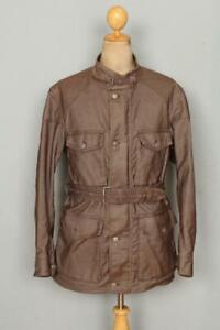 BELSTAFF Black Prince Weatherproof Jacket Size Medium