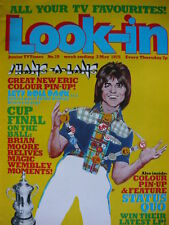 LOOK-IN MAGAZINE 3RD MAY 1975 - BAY CITY ROLLERS - ERIC - STATUS QUO POSTERS!!
