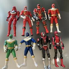 Power Rangers action figures 5? lot of 8