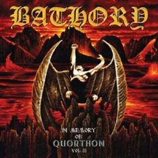 "BATHORY ""IN MEMORY OF QUORTHON VOL III"" CD NEUWARE!!!!!"
