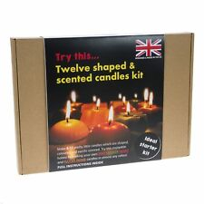 Peak Dale Candle Making Starter Kit Makes 12 Scented 4 Different Candles to Make