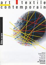 Original Vintage Poster Art Textile Contemporary 1982 Swiss Exhibition Museum