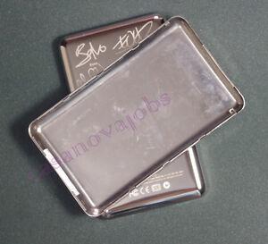 U2 iPod Thick back cover for classic 160GB video 60GB 80GB 128GB 256GB silver