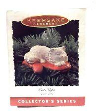 Hallmark Keepsake Ornaments Cat Naps Series 2nd 1995 NEW-ND-original owner