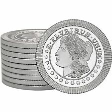 Morgan Dollar Stackables by SilverTowne 1oz .999 Silver Medallion (10pc)