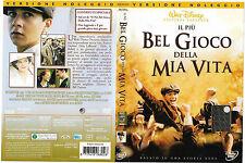 IL PIU' BEL GIOCO DELLA MIA VITA (2005) dvd ex noleggio