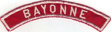 BOY SCOUT BAYONNE COUNCIL RED & WHITE HALF STRIP 1/2RW